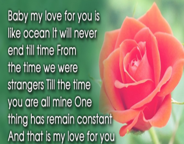 Short love poems for the one you love