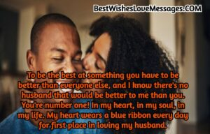 Love Message For My Husband