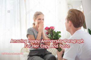 Happy Anniversary Paragraph For Her