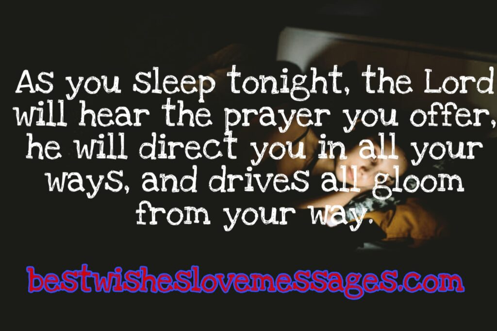 Good Night Prayer For Family