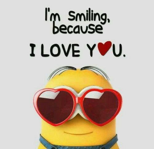 I love so much meme joyful love minion