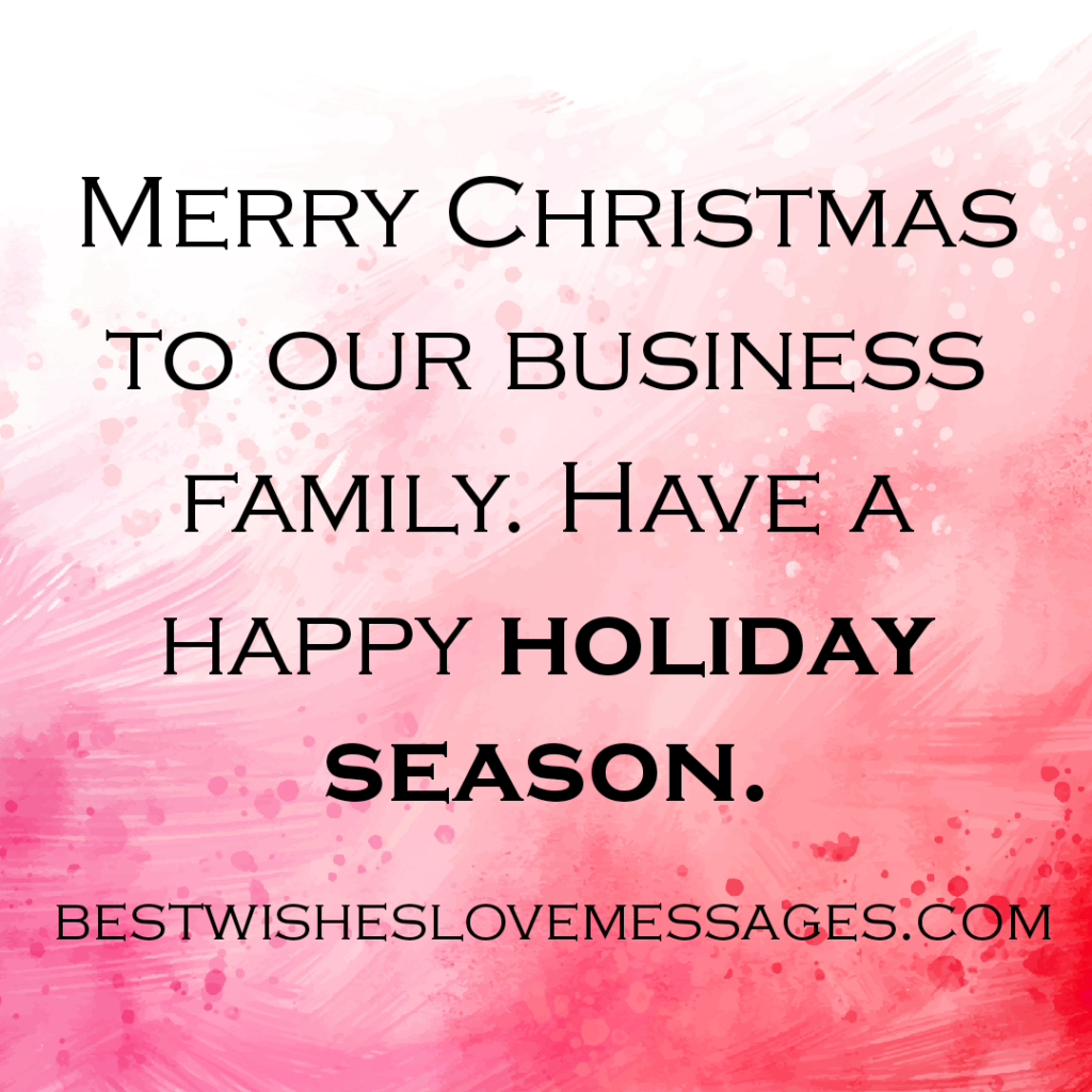 Season's Greetings Messages To Clients