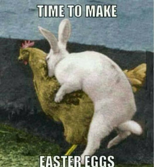 Easter memes 2021