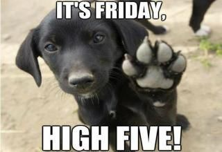 Its-friday-high-five