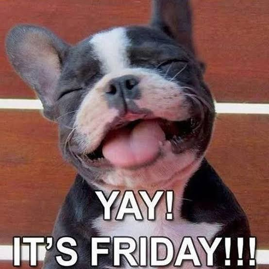Yay! It's Friday