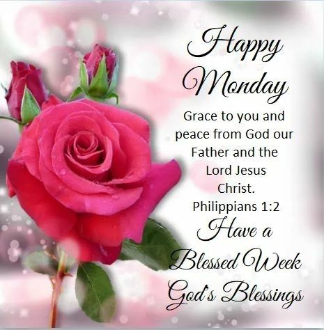 scripture monday blessings