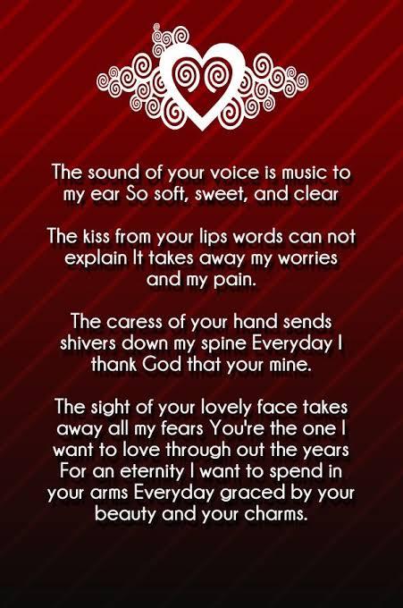 Famous short love poems