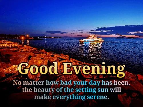 Good Evening Message For Friend