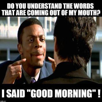 Good Morning Memes Funny