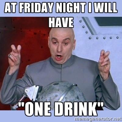 Drinking Friday Night Memes