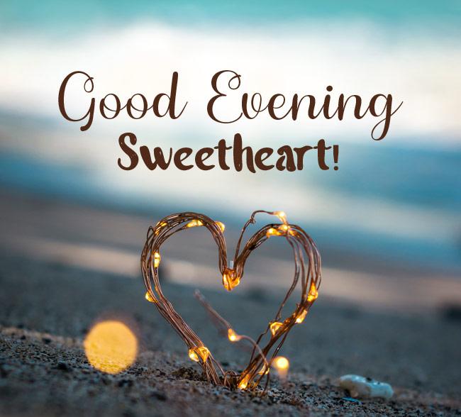 love+good+evening messages