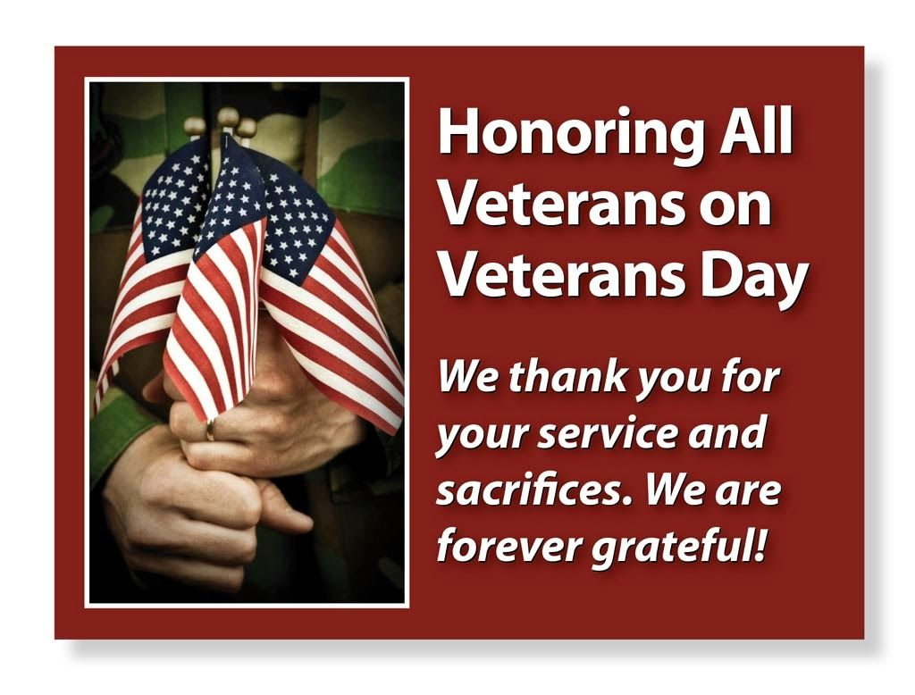 thank you for your service veterans