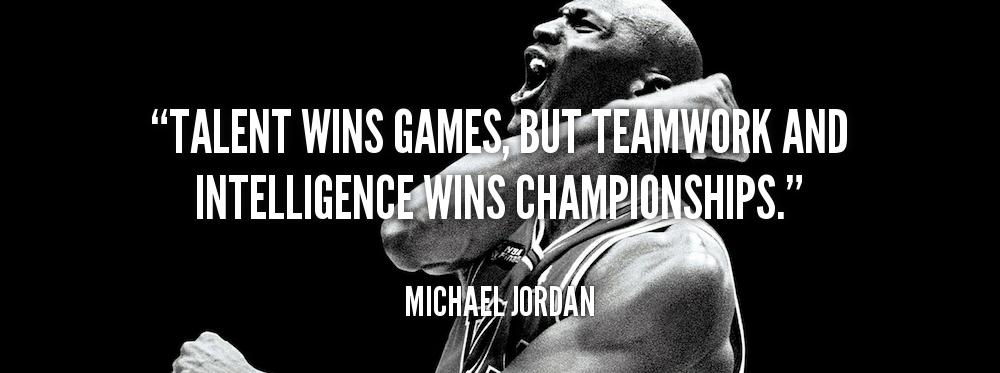 Michael Jordan quotes teamwork