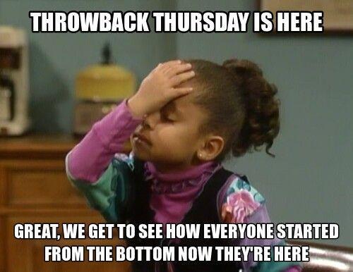 Throwback Thursday Memes