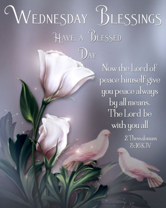 Wednesday Blessings Images Bible Verses