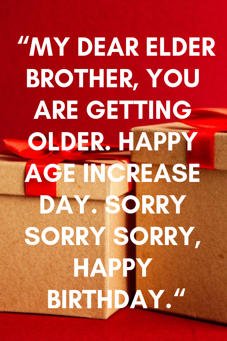 bro crazy funny birthday wishes for brother