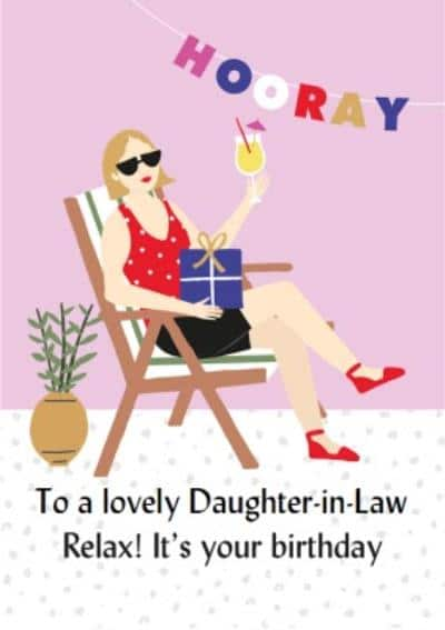 funny daughter-in-law birthday cards