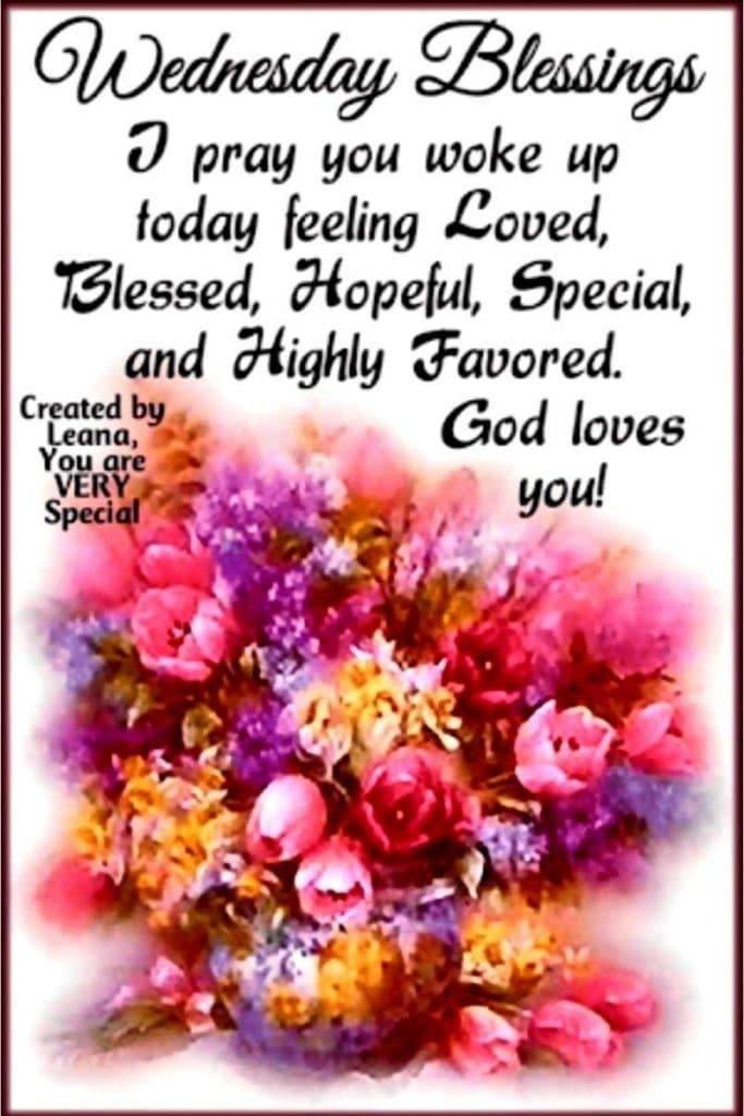 inspiration good morning Wednesday blessings