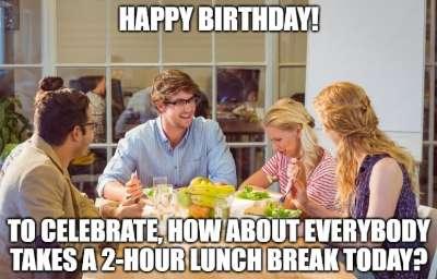 happy birthday boss meme