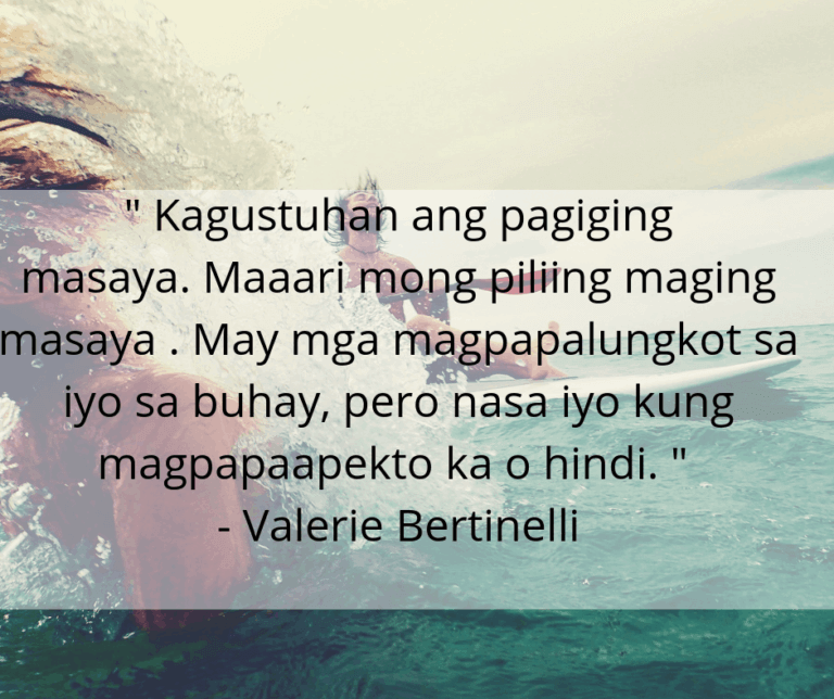 Inspirational Quotes About Life and Struggles Tagalog