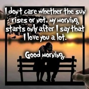 Morning Quotes For Love