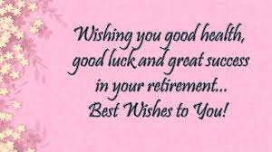 Powerful Retirement Wishes