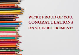 Retirement Wishes For a Teacher