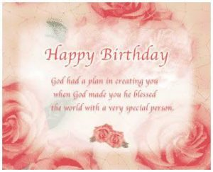 Religious Birthday Wishes For Girl