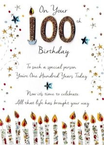 Religious Birthday Wishes For 100 Year Old