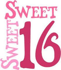 Happy Sweet 16 Niece