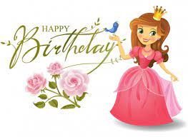 Happy birthday to Princess wallpaper
